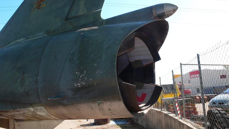"""""""Bureau"""" Arrière d'avion Dassault Mirage III C """"croupion"""""""