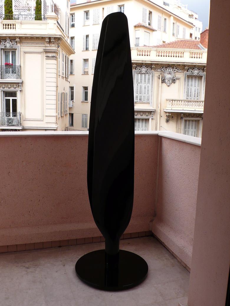 Pale d'hélice de Skyraider laquée noire