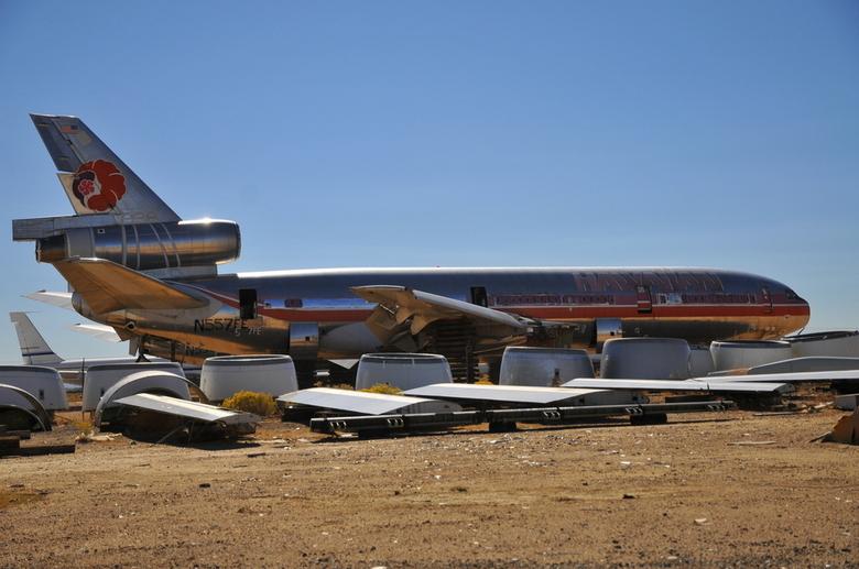 """Bar"" Avion Douglas DC10"