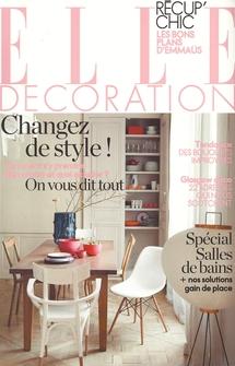 Article paru dans Elle Décoration - Avril 2011