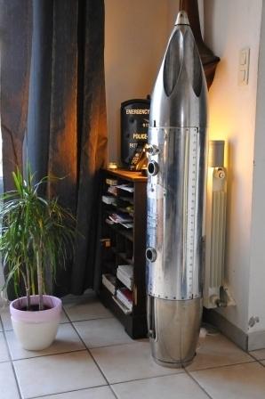 Luminaire lance-roquettes neutralisé de Mirage III