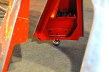 """Table basse """"Cône"""" d'hélice d'avion Breguet Atlantique"""