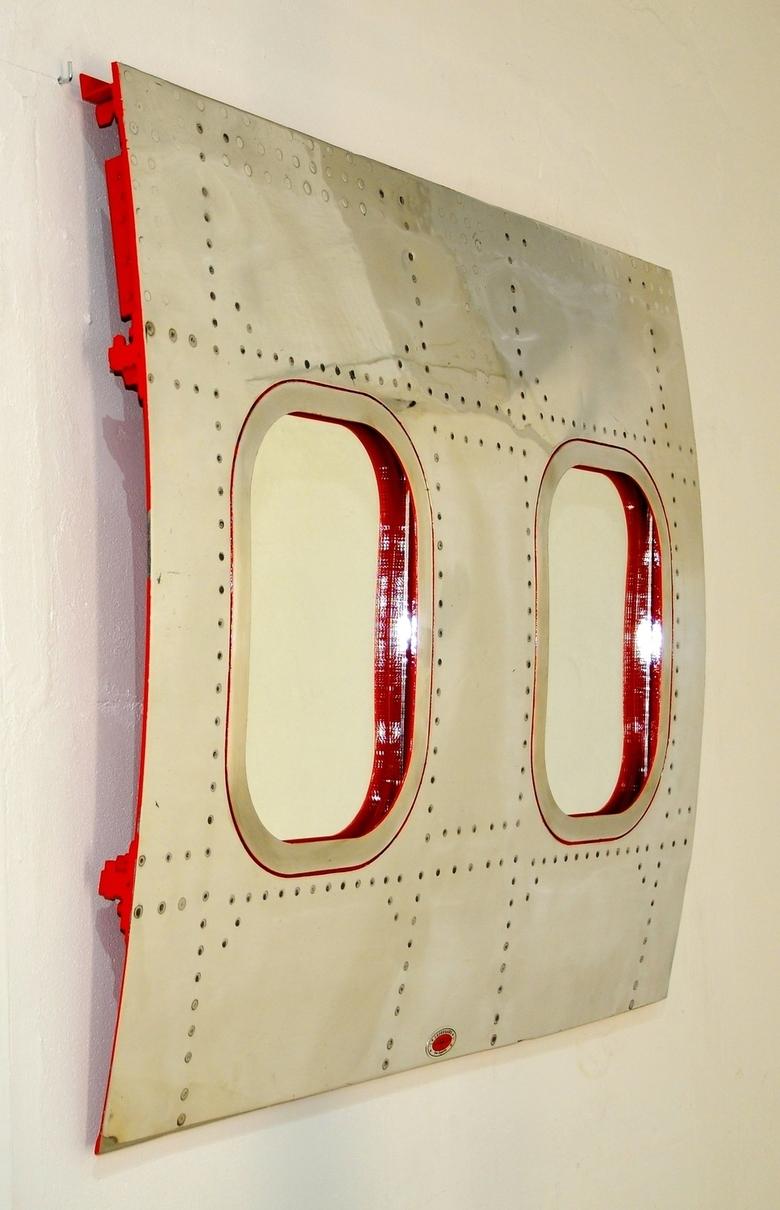 """Miroir double"" Carlingue avion US - Vendu"
