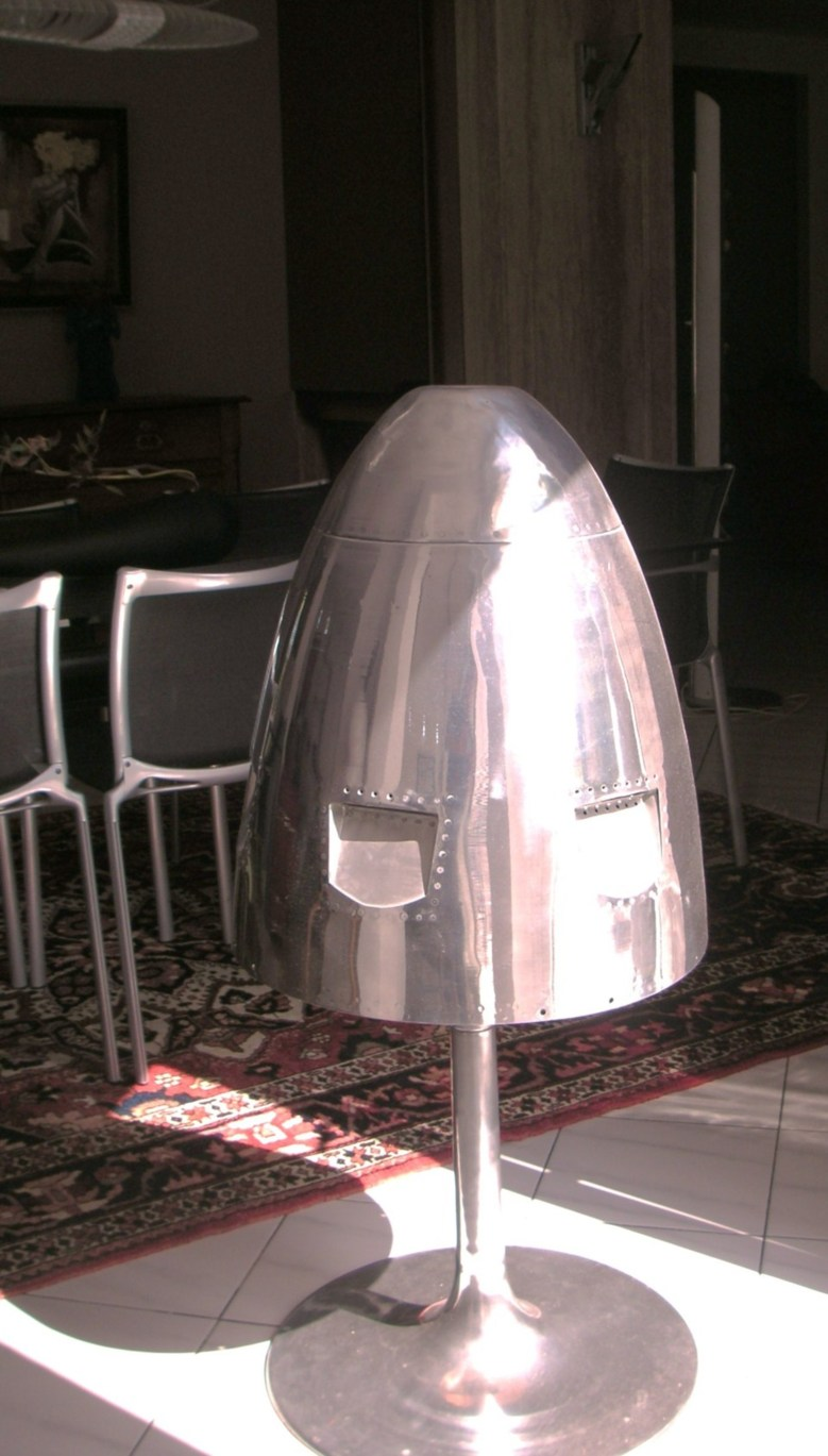 """Lampe """"Cône de réacteur ATAR"""""""