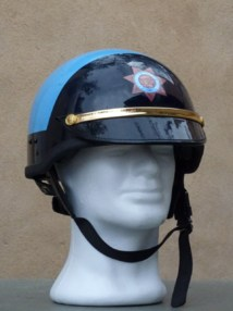"Casques motards ""vintage"" - Police US"