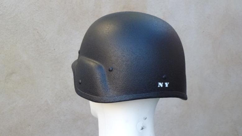 """Casques motards """"vintage"""" - Police US"""