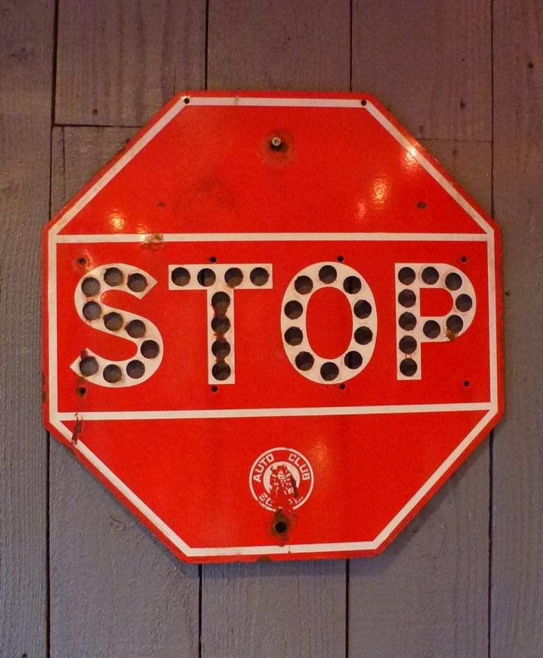Panneaux de signalisation US