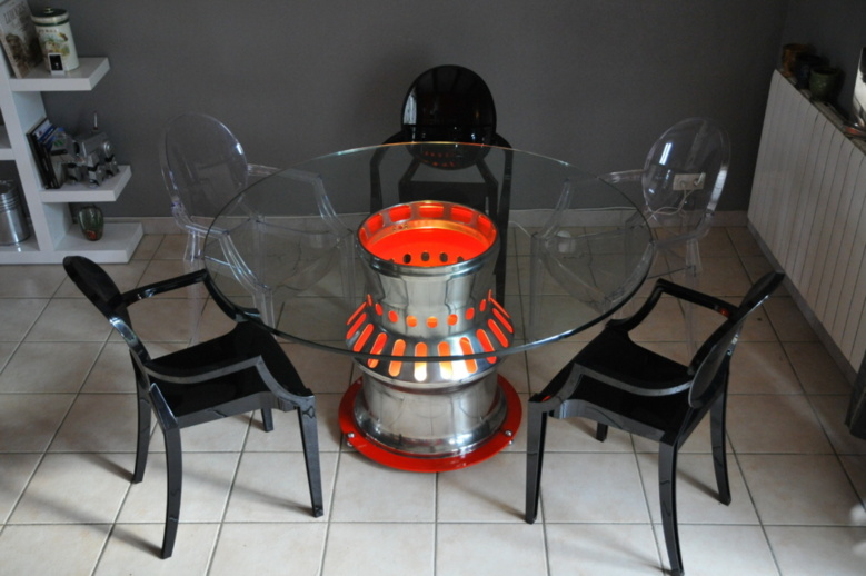 "Table ""Chambre de combustion"" Mirage III"