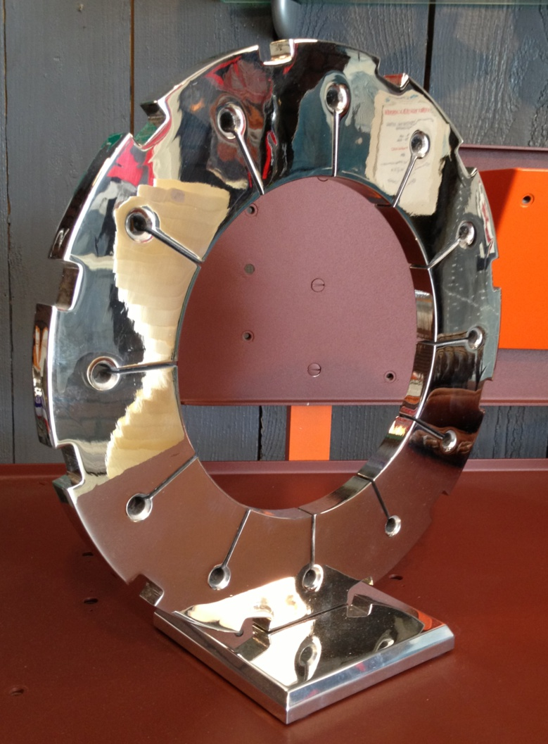 "Sculpture ""Disque de frein Crusader"" (vendu 2/5)"