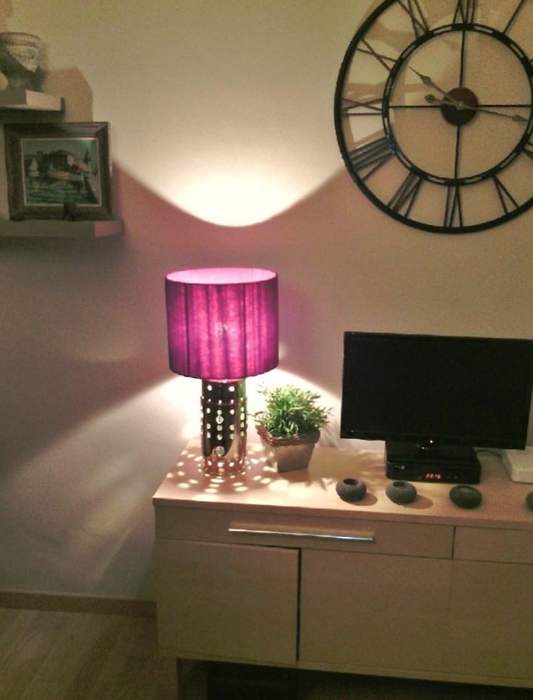 """Lampe de bureau """"Tube à flammes"""""""
