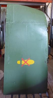 Bureau Aile de Mirage III - Avion Dassault (vendu)