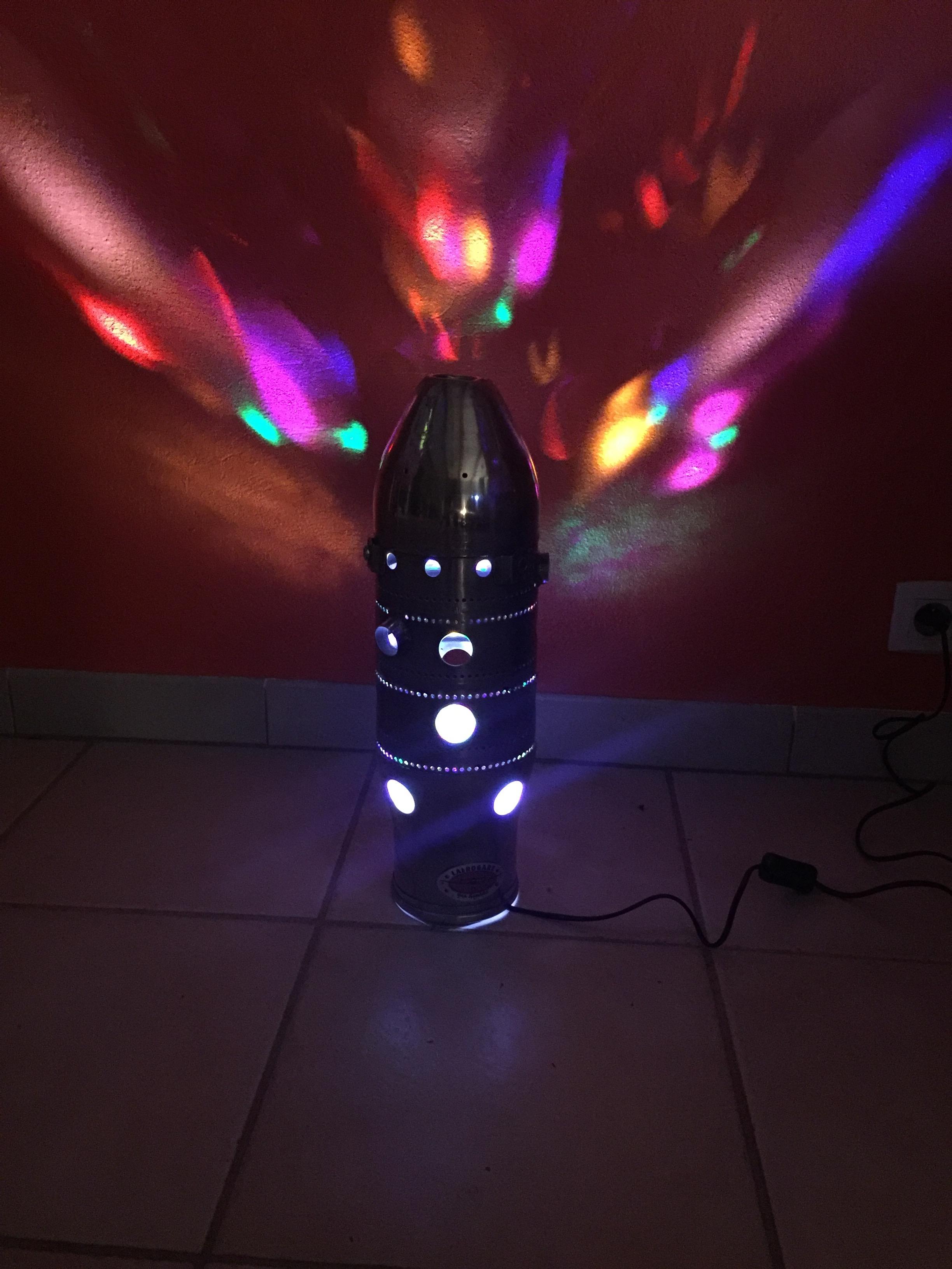 Lampe chambre de combustion