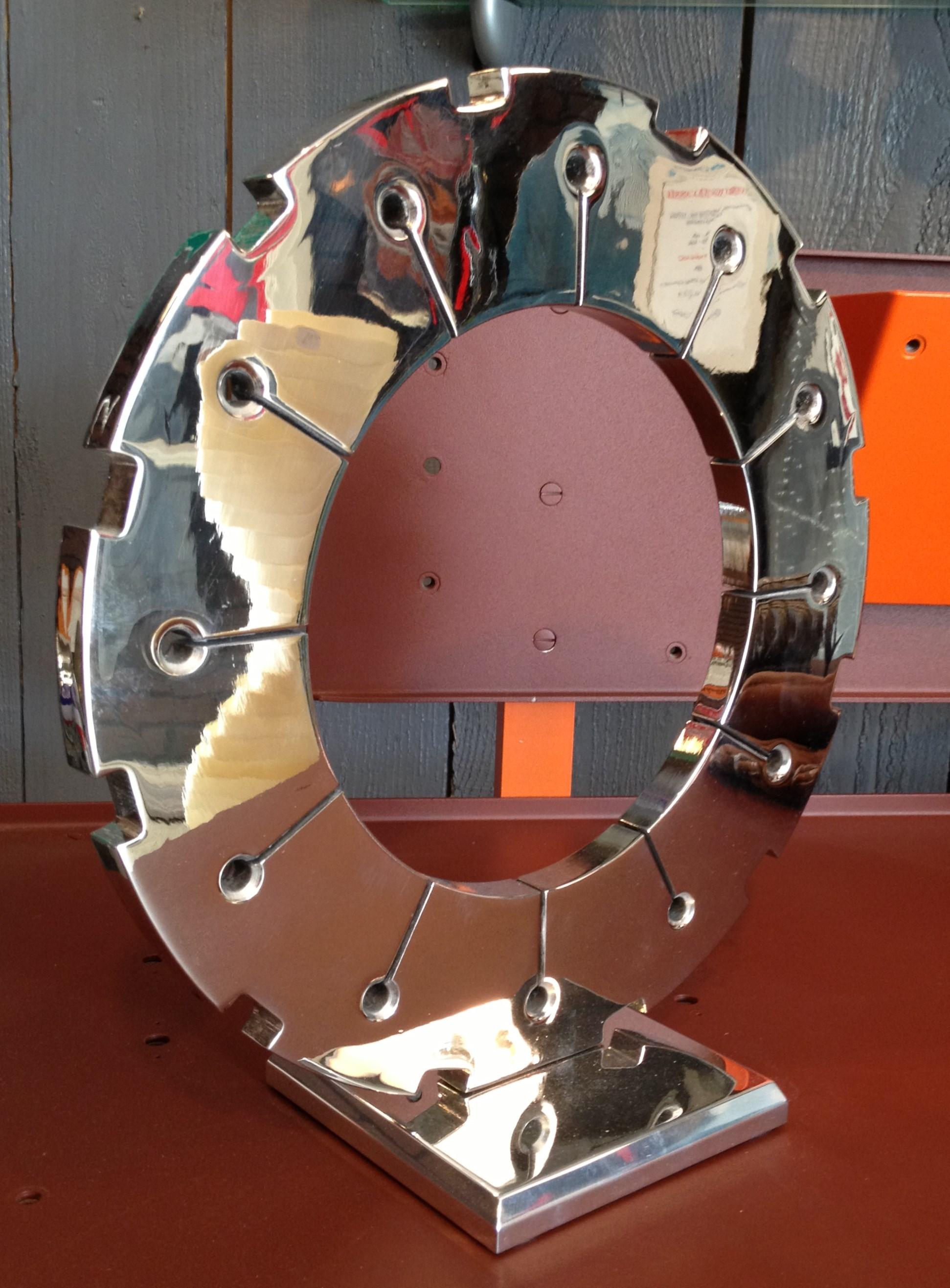Sculpture disque de frein crusader vendu 1 5 for Disque en miroir