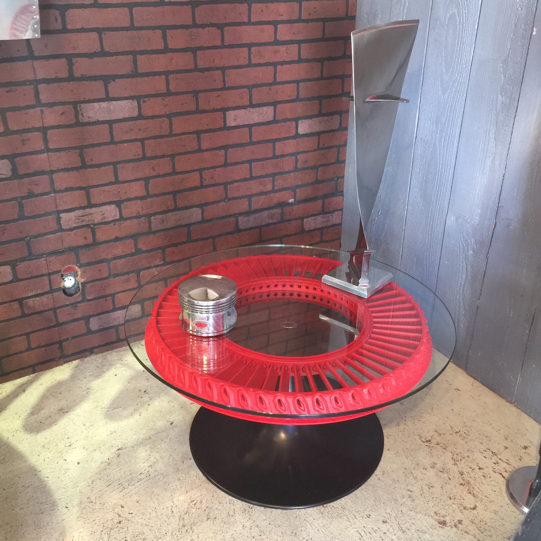 """Table de salon """"Couronne de réacteur"""""""