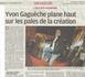 Article paru dans la Provence le 27/12/2009 par Catherine Cadot