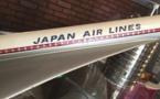 Très belle maquette d'agence de la Compagnie Japan Airlines du 1er modèle de Concorde